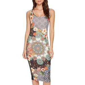 Adidas Jardim Agharta Floral Multicolor Tank Dress